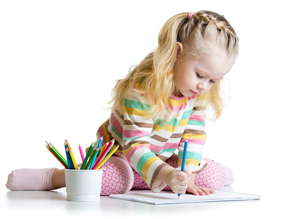 bigstock-Cheerful-child-girl-drawing-wi-85294121